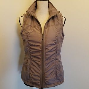 3 Hearts Tan Winter Vest
